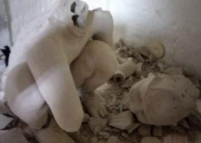 exploded in kiln